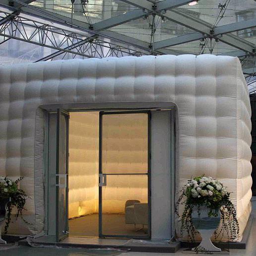 Mässmonter Inflate Cube, hyra, uppblåsbar monter, uthyrning