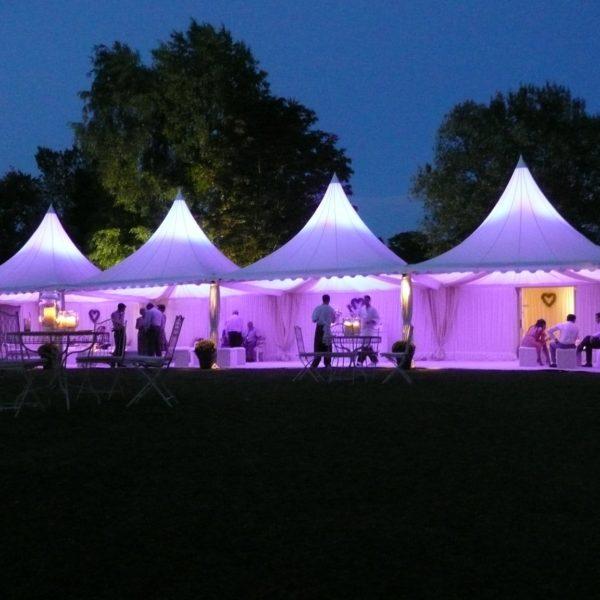 Tält, uthyrning, hyra, partytält 5x5 meter